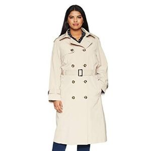 London Fog Double Breasted Trench Coat Vintage